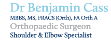 Dr Ben Cass - - Shoulder & Elbow Surgeon